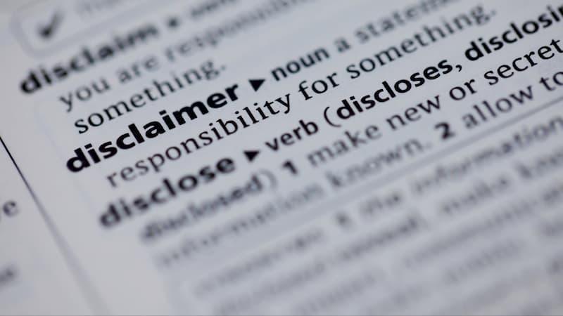 disclaimer assunnah