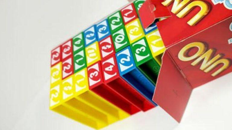 cara bermain Uno Stacko bagi pemula
