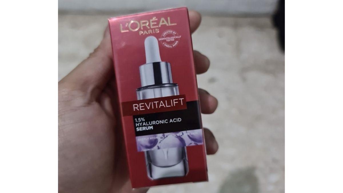 review loreal revitalift serum